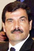 Assef Shawkat, head of Syrian intelligence.